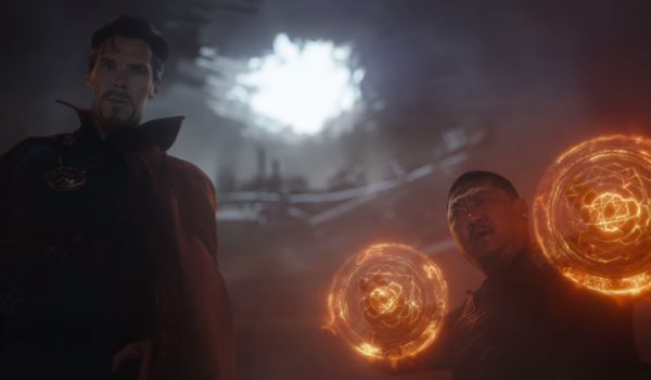 Dr Strange and Wong Infinity War