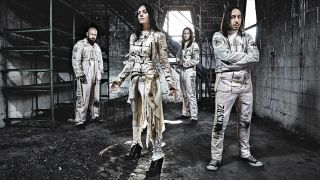 Lacuna Coil band promo photo