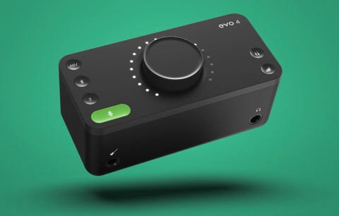 Audient EVO 4 Portable Audio Interface review
