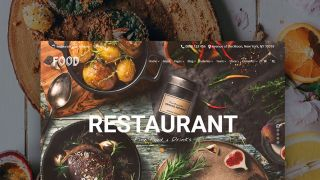 WordPress theme for a restaurant website