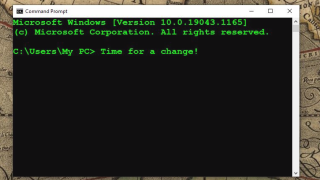How to change Command Prompt color in Windows 10