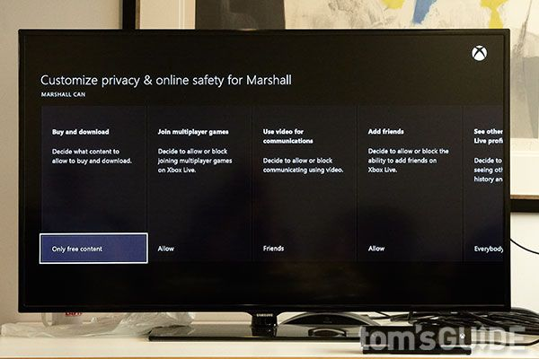 How to Set Up Xbox One Parental Controls | Tom's Guide