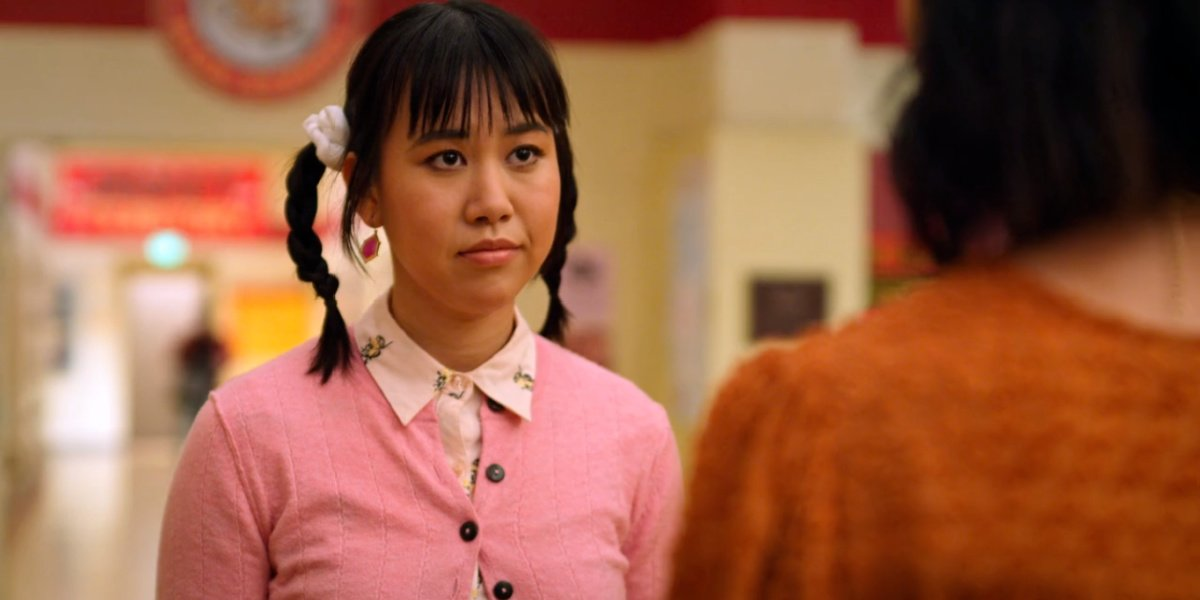 Eleanor Wong in Never Have I Ever.