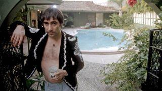 Keith Moon at home, 1975