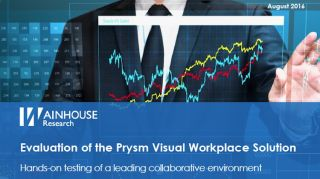Wainhouse Research Evaluates Prysm Visual Workplace