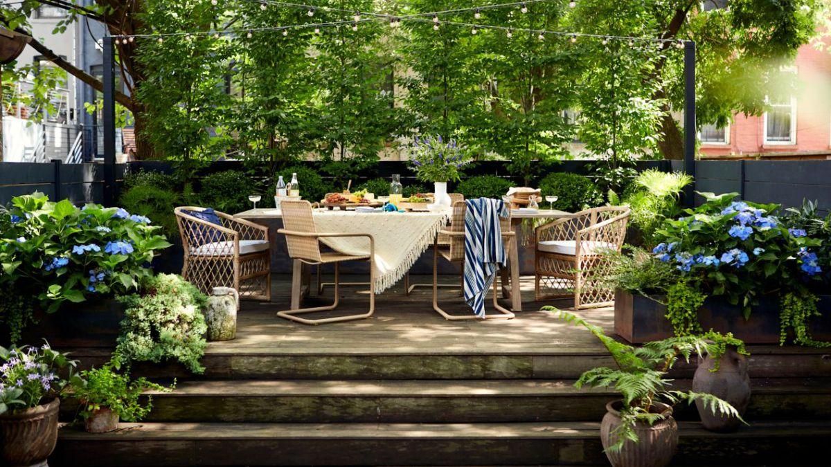 James DeSantis of Backyard Envy shares his top tips for making a small garden feel bigger