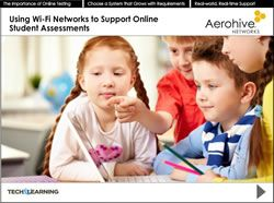 Using Wi-Fi Networks to Support Online Student Assessments