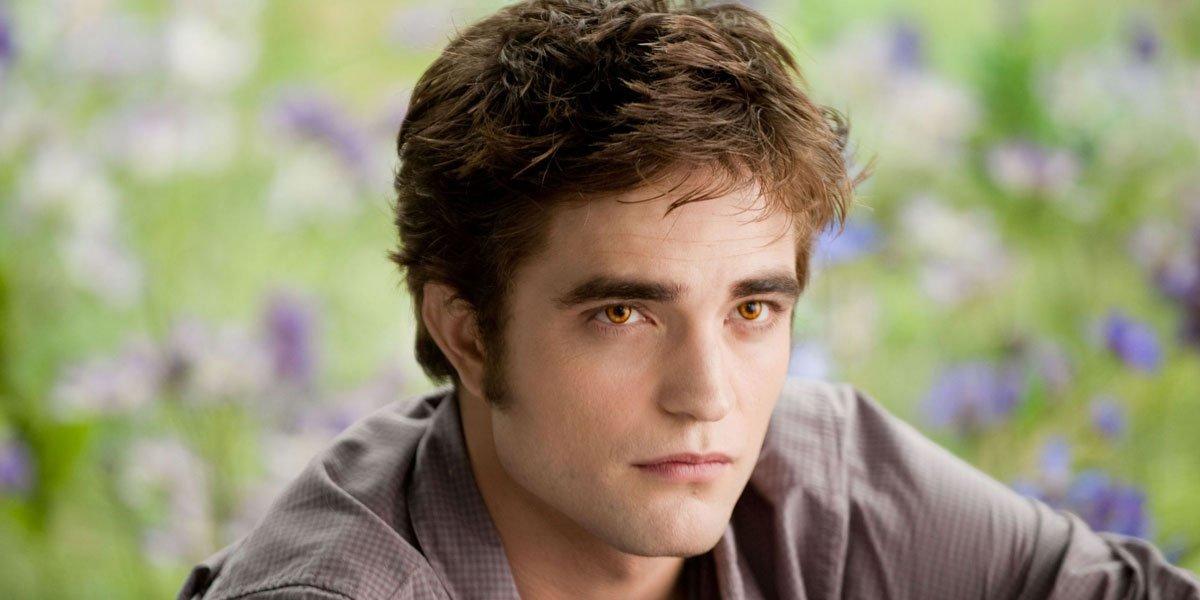 Twilight's Robert Pattinson as a sparkly vampire