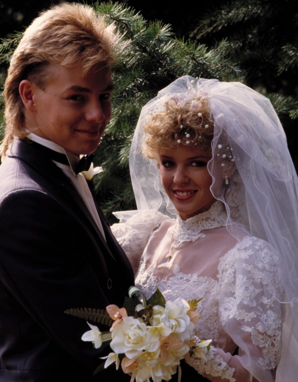 Kylie Minogue and Jason Donovan 5 - Wedding