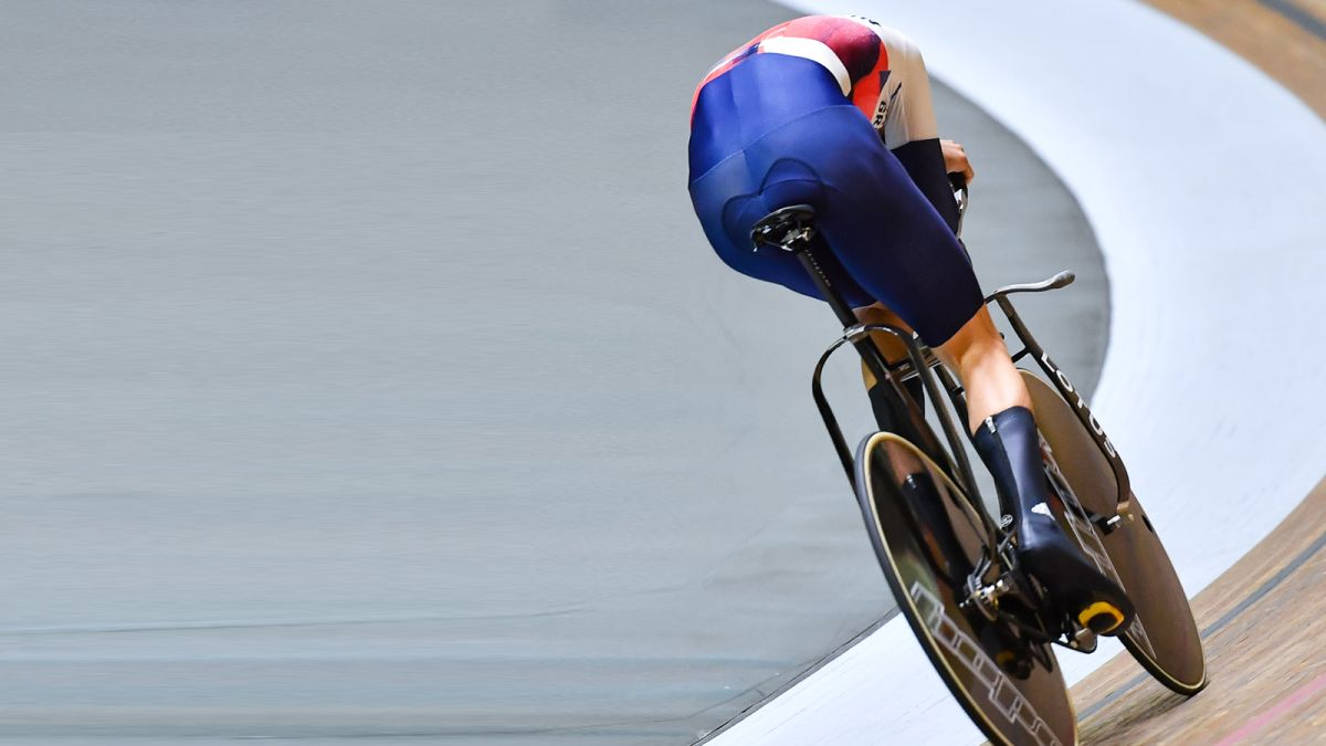 A closer look at the Lotus x Hope HB.T: Team GB's radical track bike at the Tokyo Olympics
