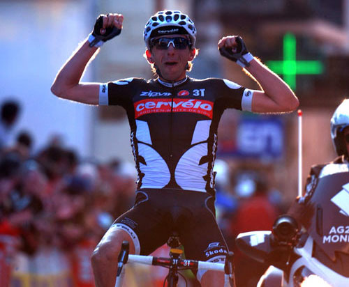 Xavier Tondo solos to win, Paris-Nice 2010, stage five