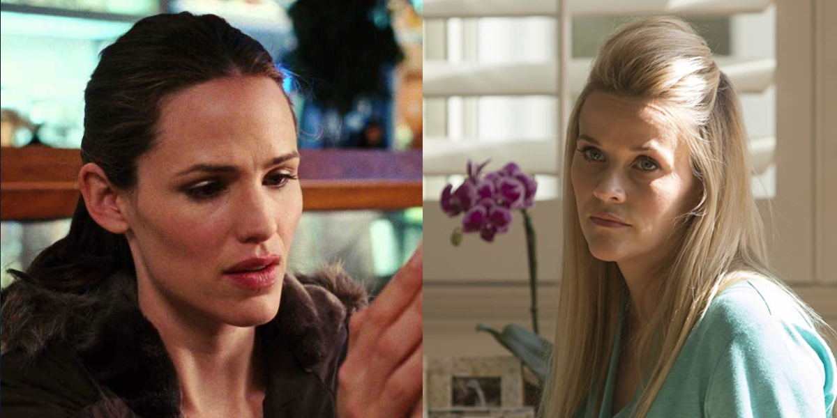Jennifer Garner and Reese Witherspoon side by side