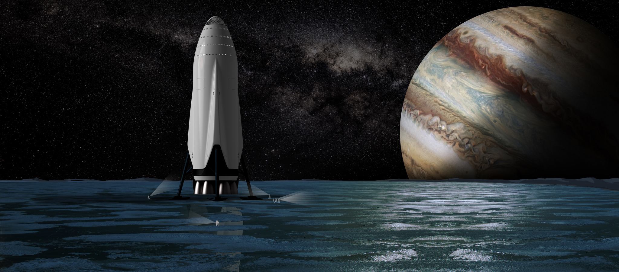 SpaceX\'s Mars Spaceship Could Explore the Entire Solar System, Elon ...