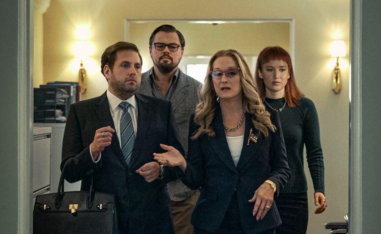 The cast of Don't Look Up, Netflix Tudum event