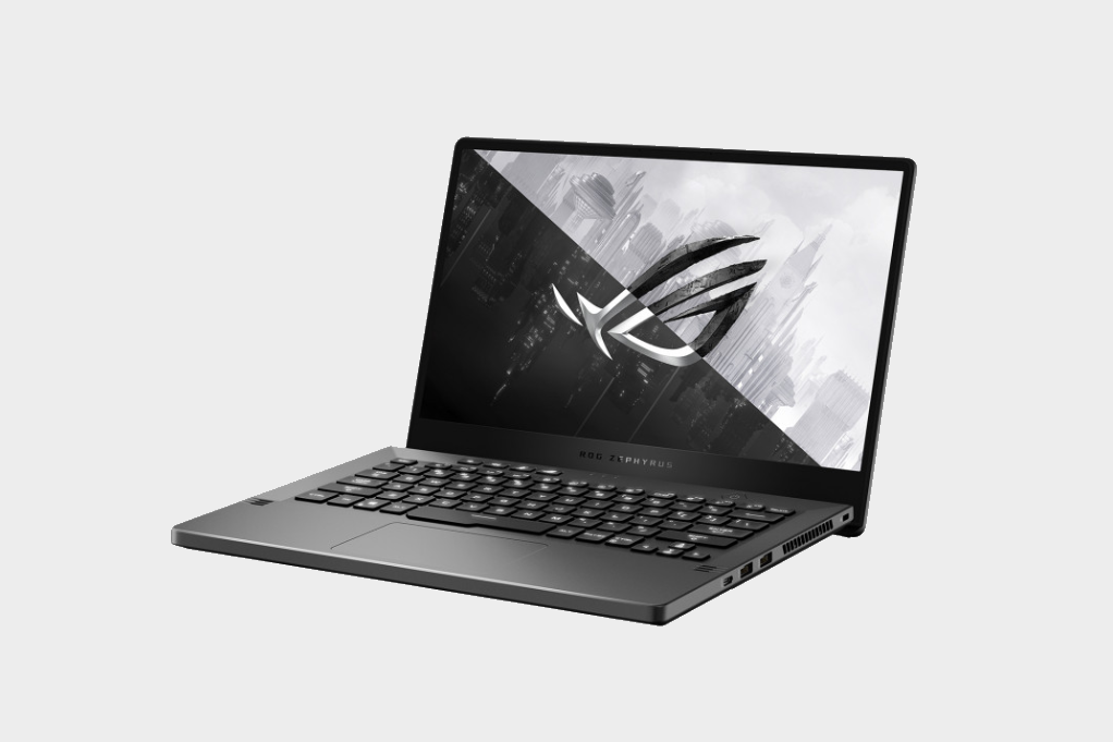Image of the Asus Zephyrus G14 gaming laptop