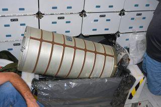 shuttle endeavour water tanks