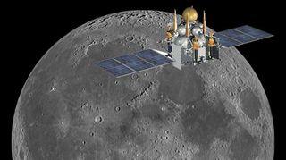 Russian Luna Glob Spacecraft