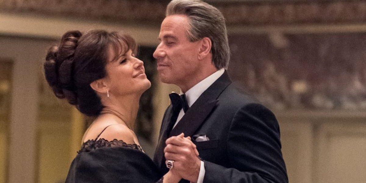Kelly Preston and John Travolta in Gotti
