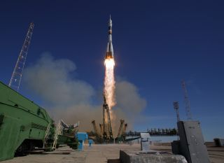 Soyuz Rocket Launch, Oct. 11, 2018