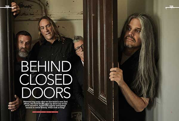After 13 years, they're finally breaking their silence. Tool are on the new cover of Metal Hammer – out now! | Louder