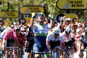 Caleb Ewan wins stage 6 of the 2016 Tour Down Under