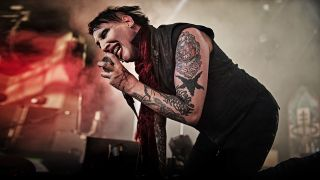 marilyn manson on stage