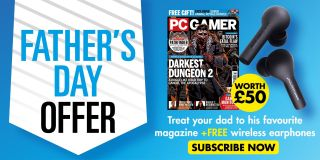 PC Gamer magazine Father's Day offer