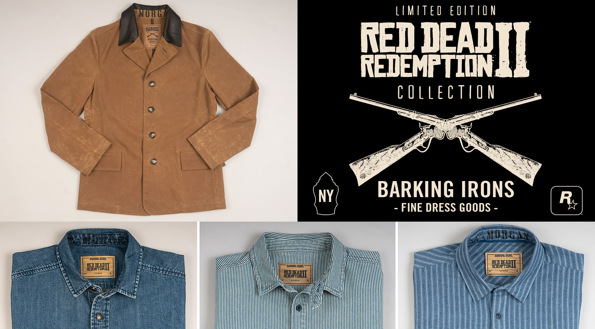 Dress Like A Cowboy With Red Dead Redemption 2 S Official Clothing