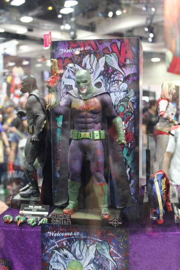 SDCC toy suicide squad joker batman