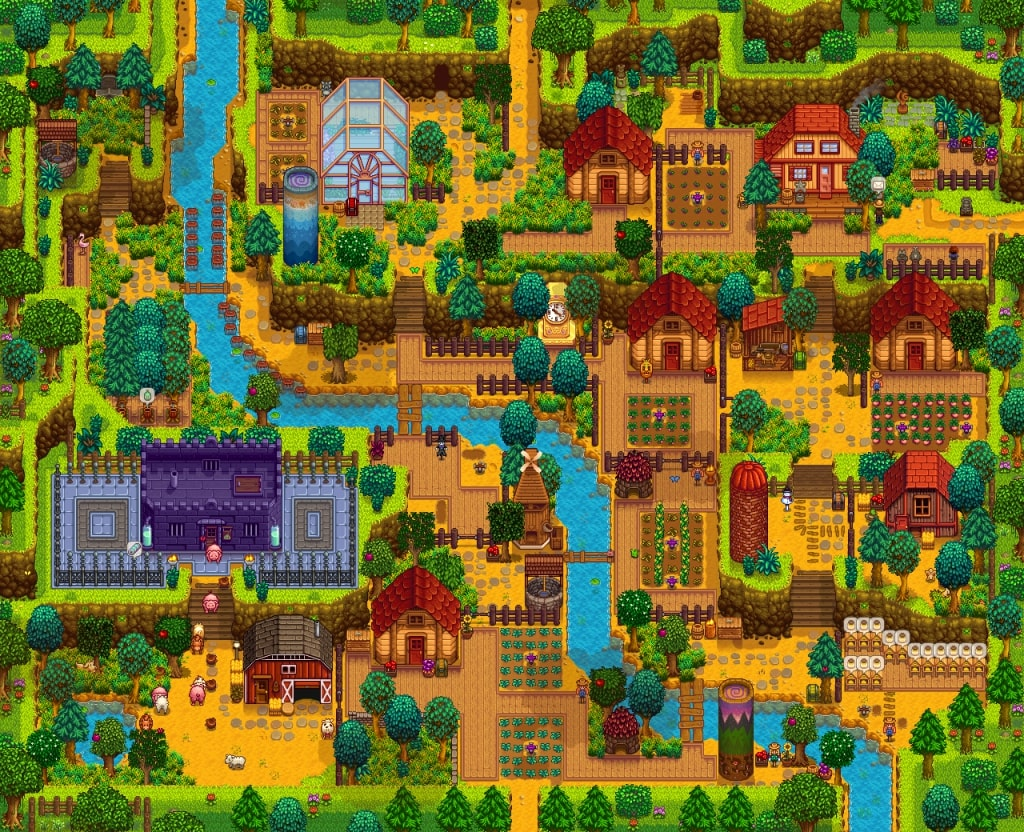 Stardew Valley update 1.4 will let you