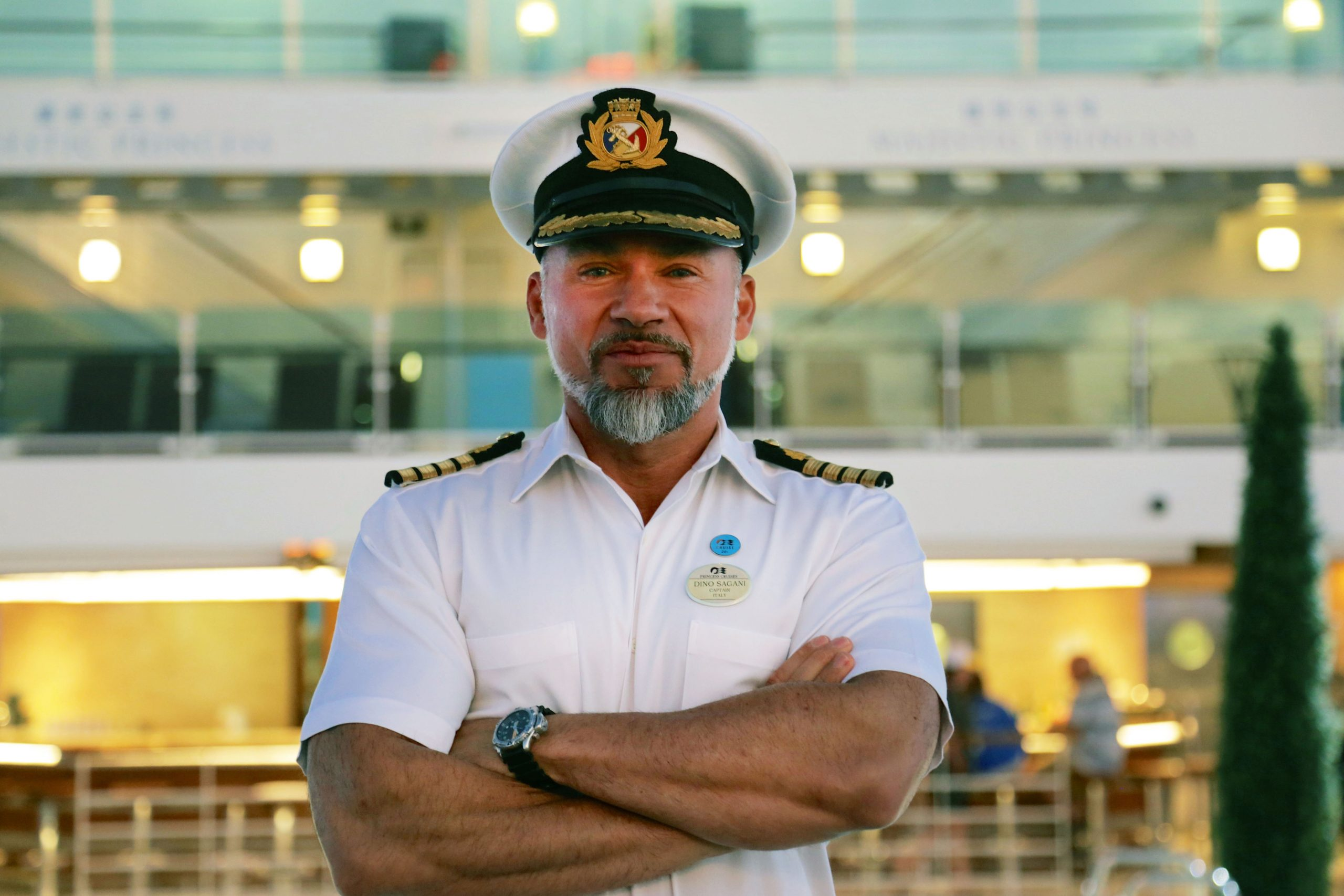 The Cruise captain