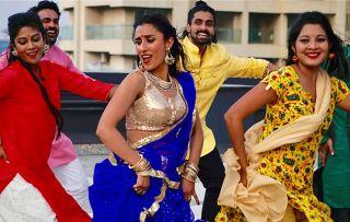 Bollywood: The World's Biggest Film Industry - shows Anita Rani dancing