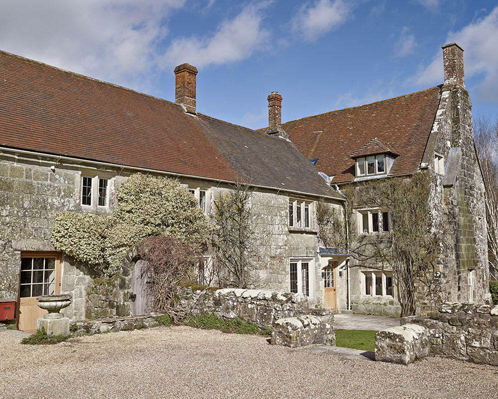 A traditional mixed-period manor house in Wiltshire