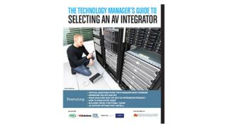 The Technology Manager's Guide to Selecting an AV Integrator