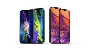 Los nuevos iPhone 12, iPhone 12 Max, iPhone 12 Pro e iPhone 12 Pro Max
