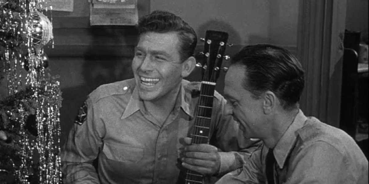 Andy Griffith and Don Knotts in The Andy Griffith Show