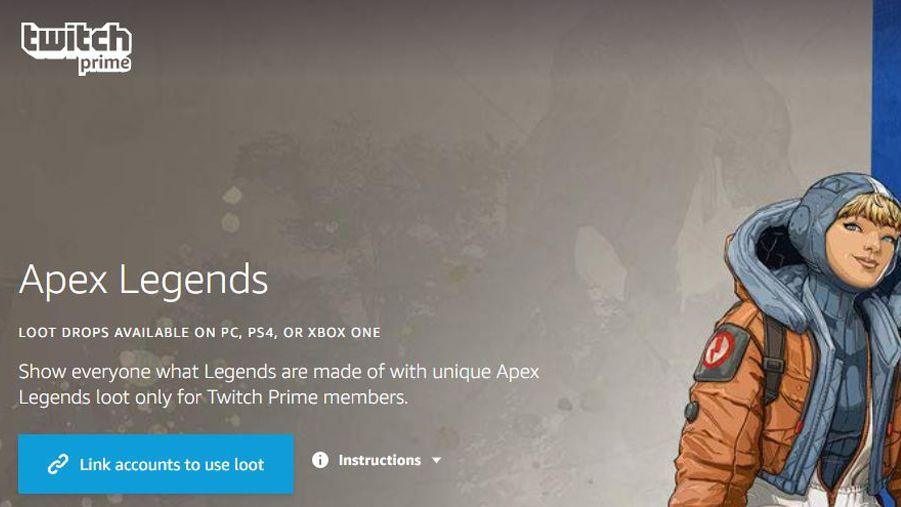 How to claim Apex Legends' Twitch Prime content drop   TechRadar