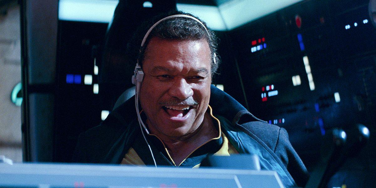 Billy Dee Williams as Lando in Star Wars: The Rise of Skywalker