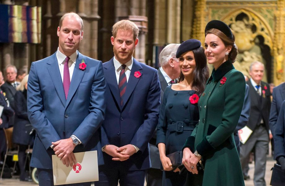 Harry And Meghan And Catherine And William Reveal Adorable Unseen