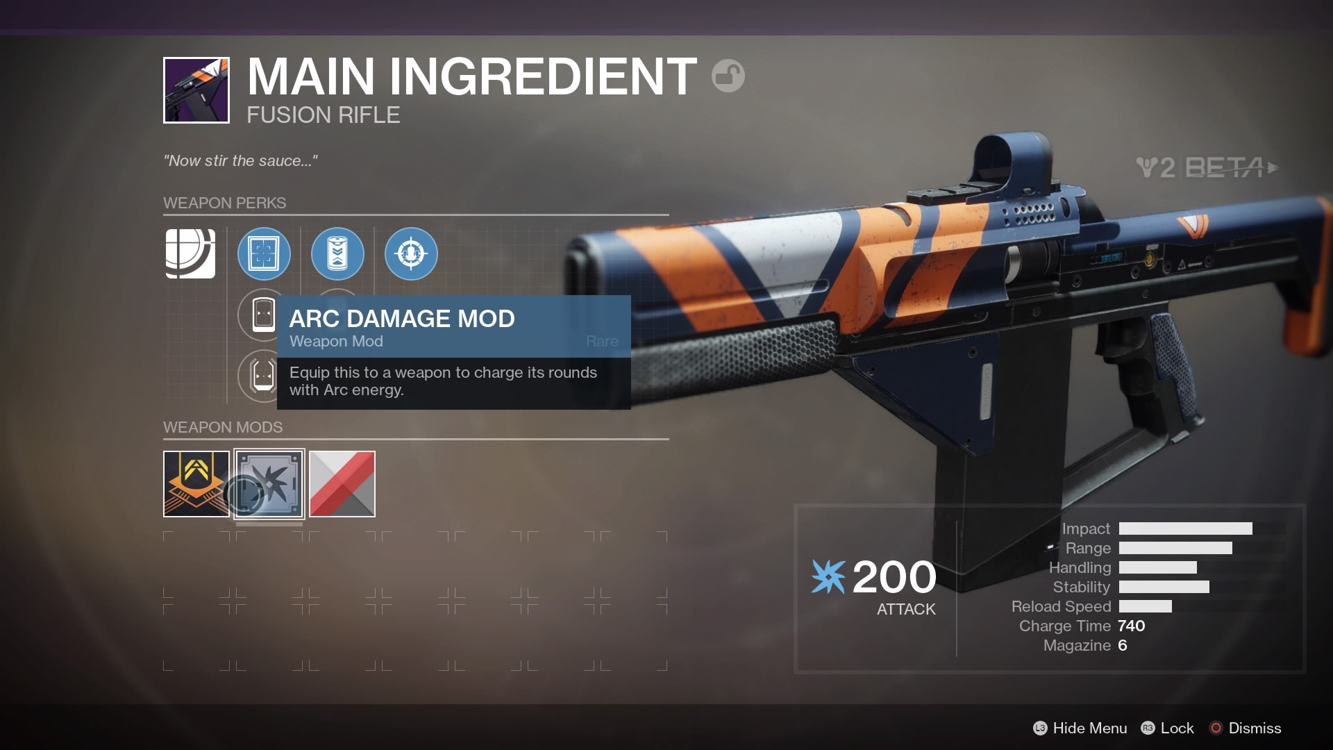 Destiny 2 Beta Confirms Weapon And Armor Mods