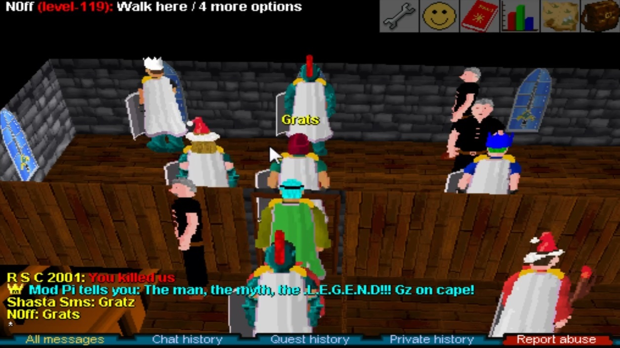 Runescape Classic's shutdown was delayed just so one player could