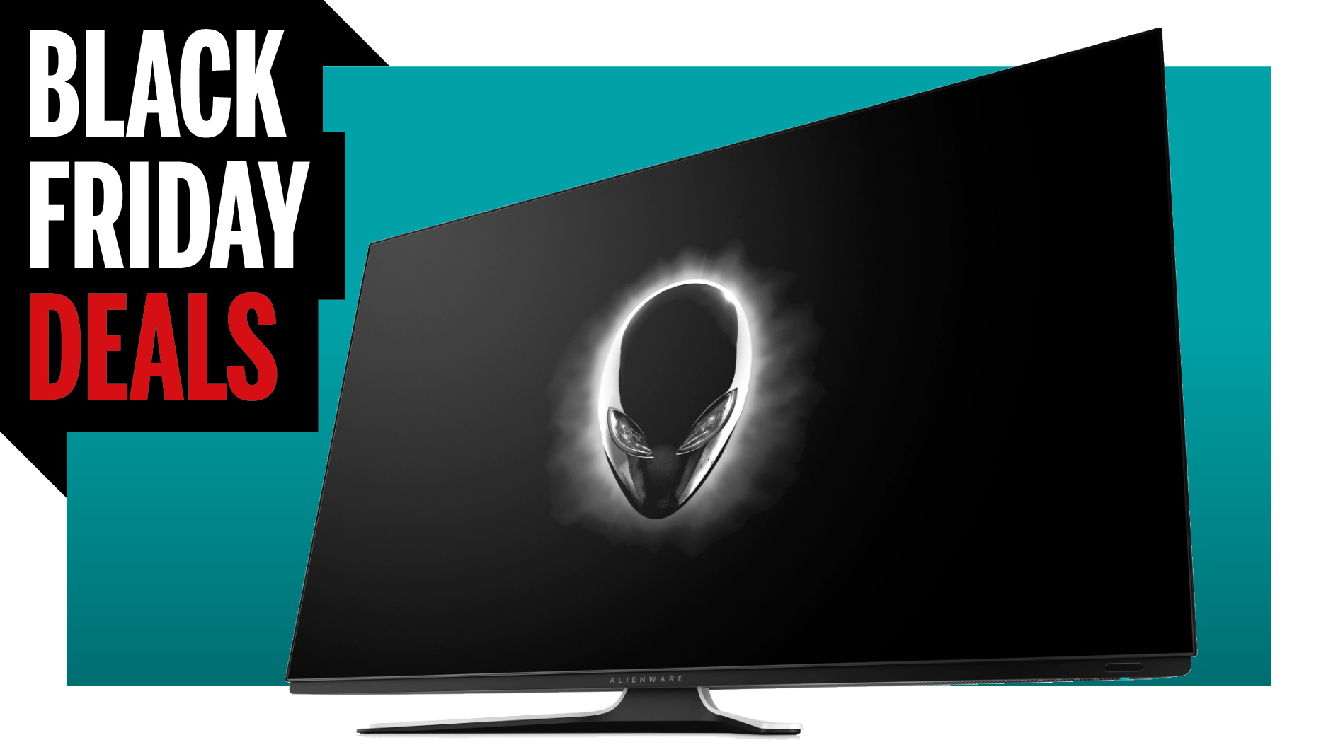 Make every game awesome with this gargantuan 55-inch Alienware OLED monitor