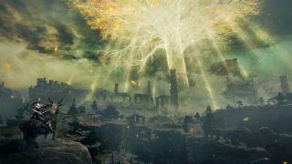 Stillbilde fra Elden Ring-traileren