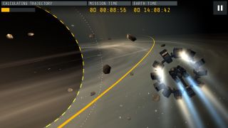"Screenshot from ""Interstellar Experience"" Game"