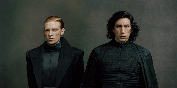 Kylo and Hux in a promo image for The Last Jedi