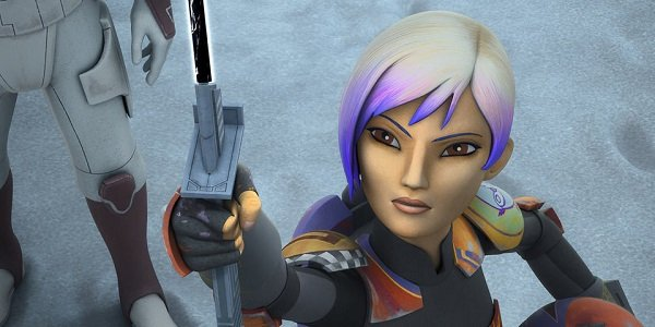 Sabine Wren Tiya Sircar Star Wars Rebels Disney XD