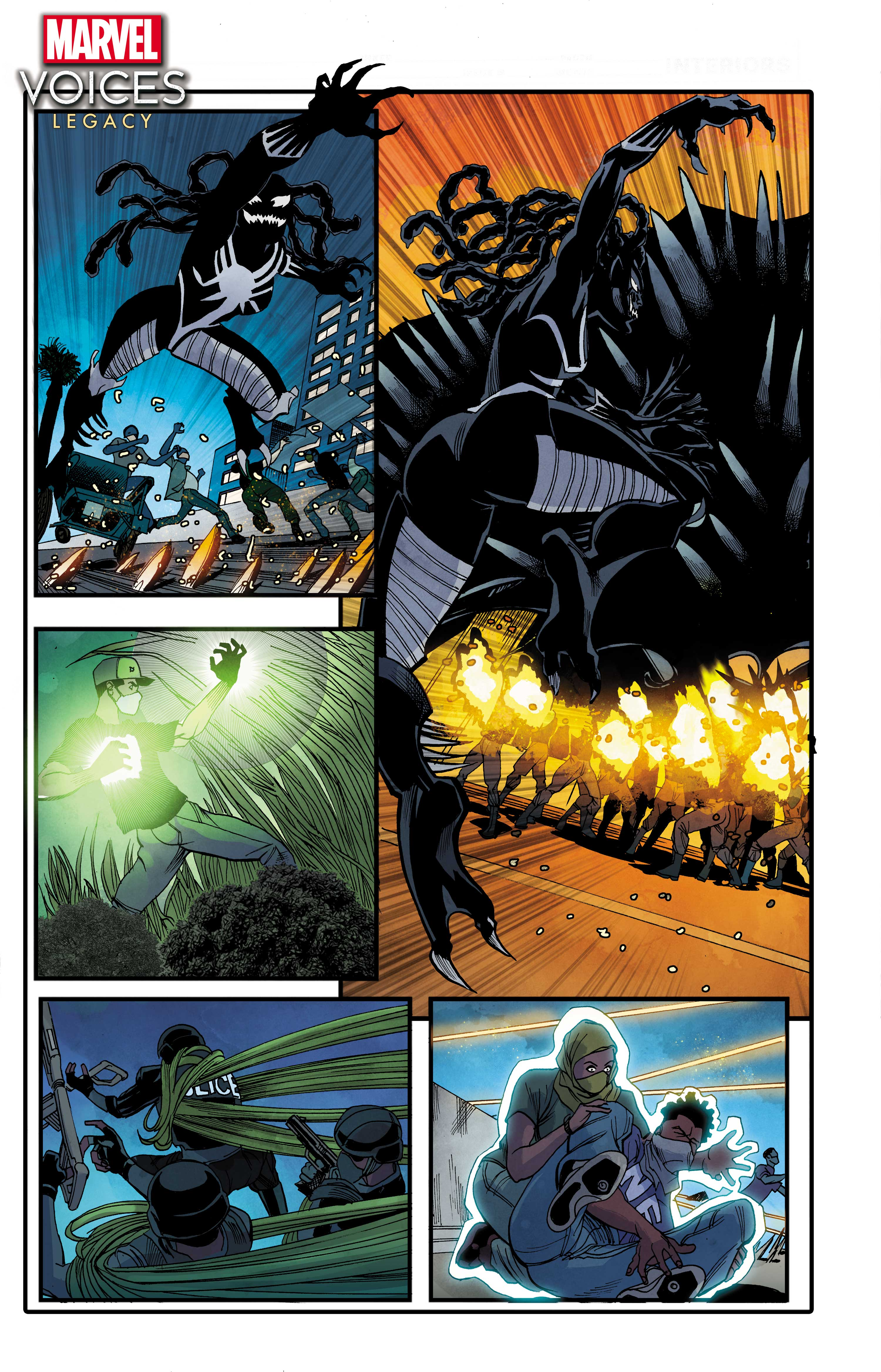 Marvel's Voices: Legacy Page