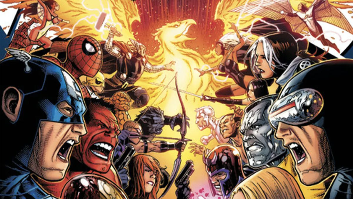 The Avengers versus the Phoenix Force this December