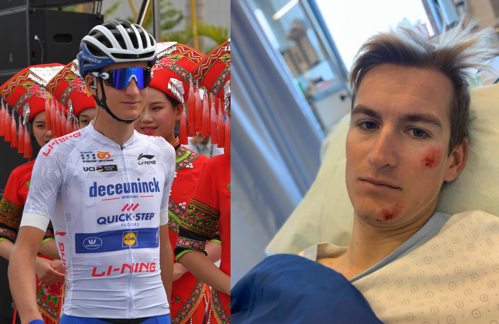 Deceuninck – Quick-Step's Mikkel Honoré 'feeling fortunate' after hit and run during training ride