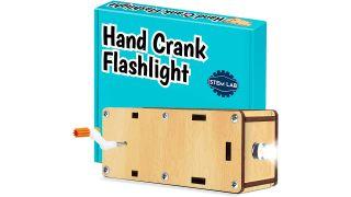 STEM Lab hand crank flashlight kit